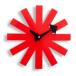 ジョージ・ネルソン ネルソンクロック アスタリスククロック 時計 掛け時計 ブラック ホワイト レッド