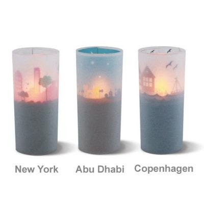 DI CLASSE ディクラッセ Cuore Graphio LED candle クオーレグラフィオLEDキャンドル