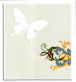 DI CLASSE ディクラッセ Wall seal greeting card antique ウォールシール グリーティングカード アンティーク(10枚セット)