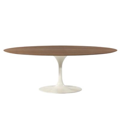 エーロ・サーリネン オーバルダイニングテーブル ウッド(DT6138B)